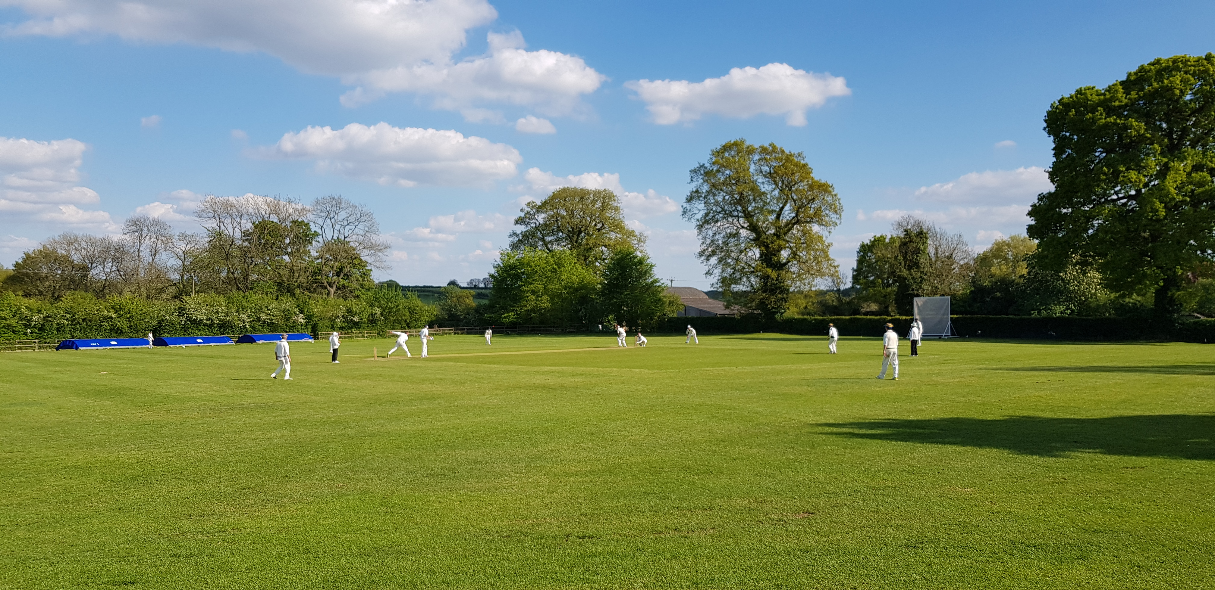 Return of cricket at Horley CC