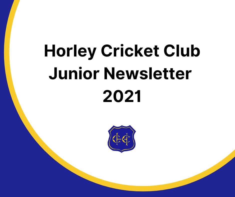 Junior Newsletter 2021